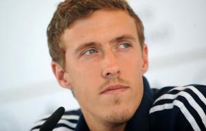 Max Kruse, attaccante del Wolfsburg
