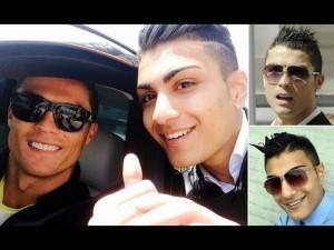 Ronaldo ed il suo fan più grande