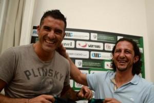 Cristiano Lucarelli e Igor Protti