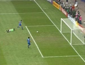 Il gol di Inzaghi alla Repubblica Ceca (foto dal web)