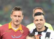 Di Natale insieme a Totti (foto dal web)