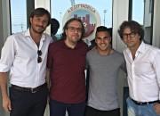Lucas Chiaretti con i suoi procuratori