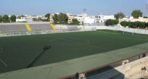 Lo Stadio Giovanni Paolo II di Francavilla Fontana