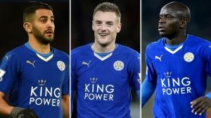 Il trio delle meraviglie del Leicester
