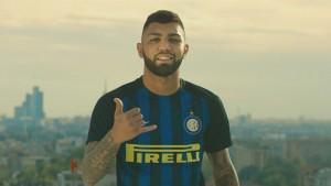 Gabigol, il giorno della presentazione all'Inter