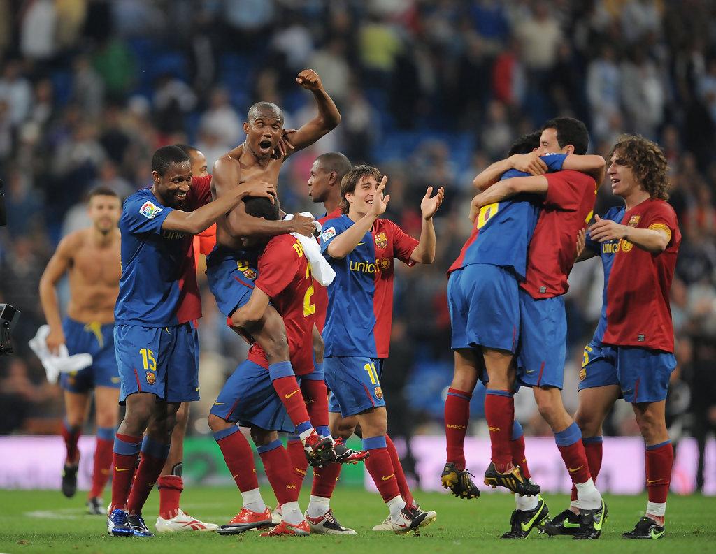 Samuel Eto'o ai tempi del Barcellona (foto dal web)