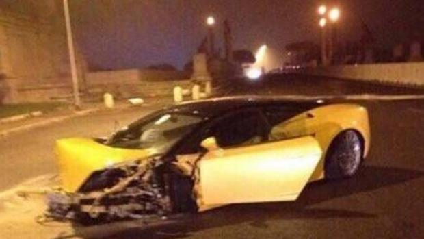 Incidente Bruno Peres: brasiliano illeso e macchina distrutta