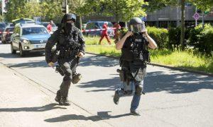 Polizia tedesca (foto repertorio)