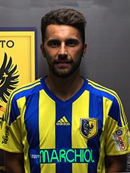 Andrea Gattamelata, centrocampista del Trento (foto: actreno.com)