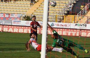 Un gol di Candellone con la maglia del Gubbio
