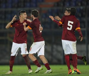 Lorenzo Pellegrini ai tempi della Roma (foto dal web)