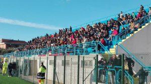 I tifosi del Madrepietra (foto: dilettantifoggia.it)