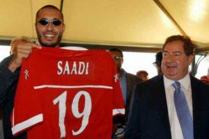 Presentazione di Saadi Gheddafi