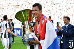 Mario Mandzukic festeggia la vittoria