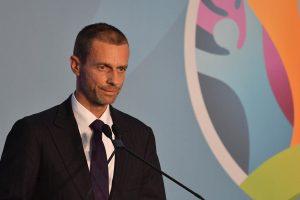 Aleksander Ceferin, presidente UEFA