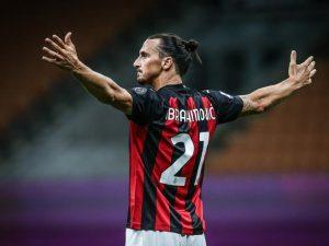 Ibrahimovic con la maglia del Milan (fonte: corriere.it)