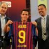 Alexis Sanchez si presenta ai tifosi del Barcellona