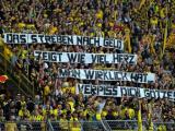 """FOTO- I tifosi del Borussia contro Gotze: """"L'aspirazione verso i soldi dimostra…"""""""