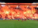 Legia Varsavia, una coreografia pazzesca contro la UEFA