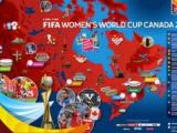 Sorteggiati i gruppi per la Coppa del Mondo femminile di Canada 2015