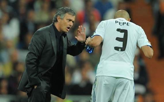 Pepe e Mourinho