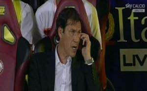 Rudy Garcia telefonino